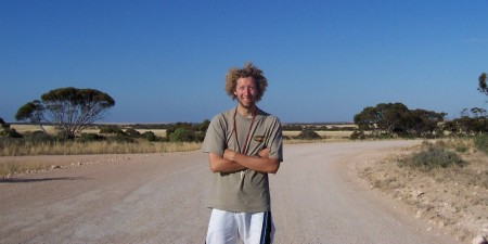 Me On The Nullarbor