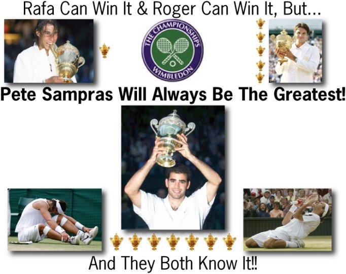 Sampras Will Always Be The Best!