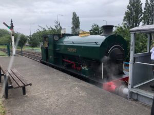 Steam train from the AFRPS Tour