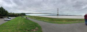 The Magnificient Humber Bridge
