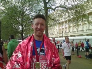 Marathon finished wearing the cape