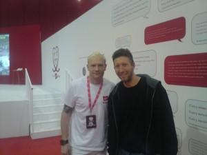 Iwan Thomas and me